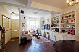 Fulham living rooms